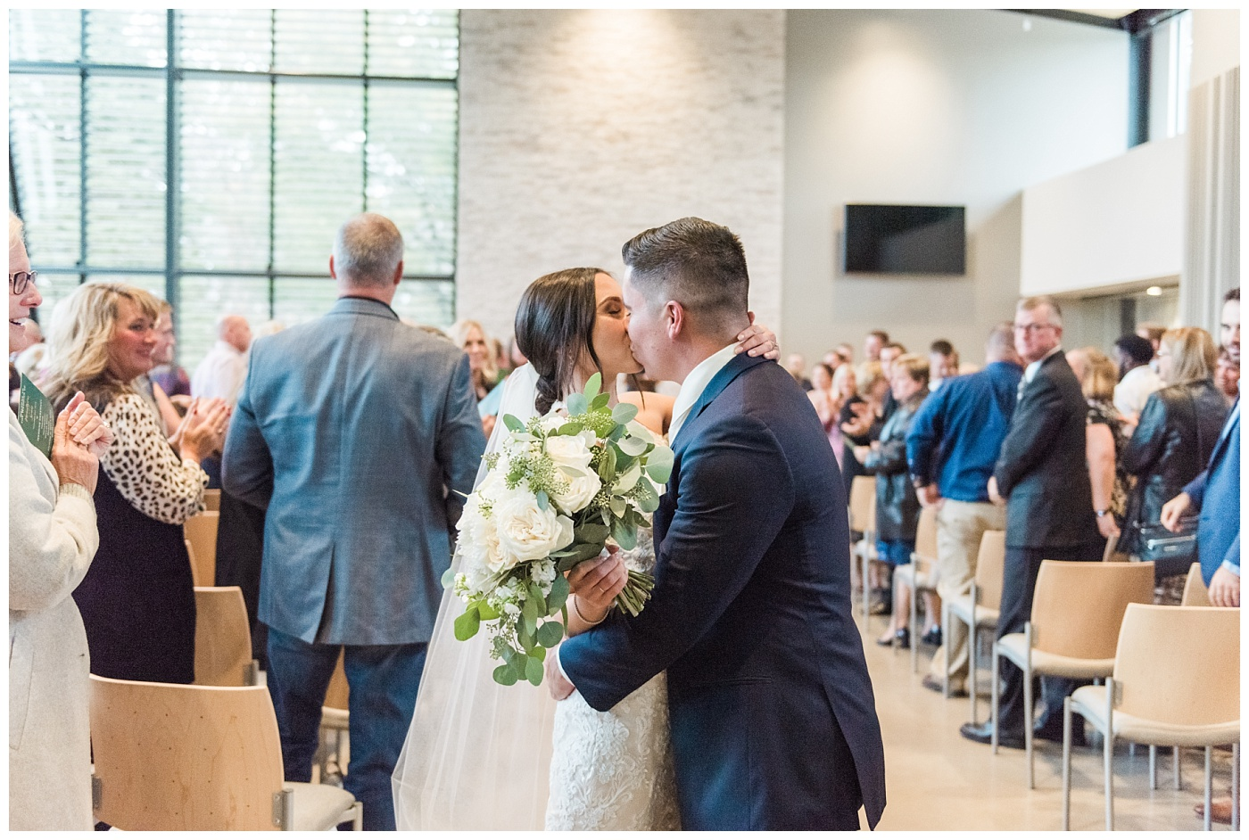 Stephanie Marie Photography Unitarian Universalist Society Church Ceremony Hotel Kirkwood Reception Cedar Rapids Iowa City Wedding Photographer Sean Madison Moore_0043.jpg
