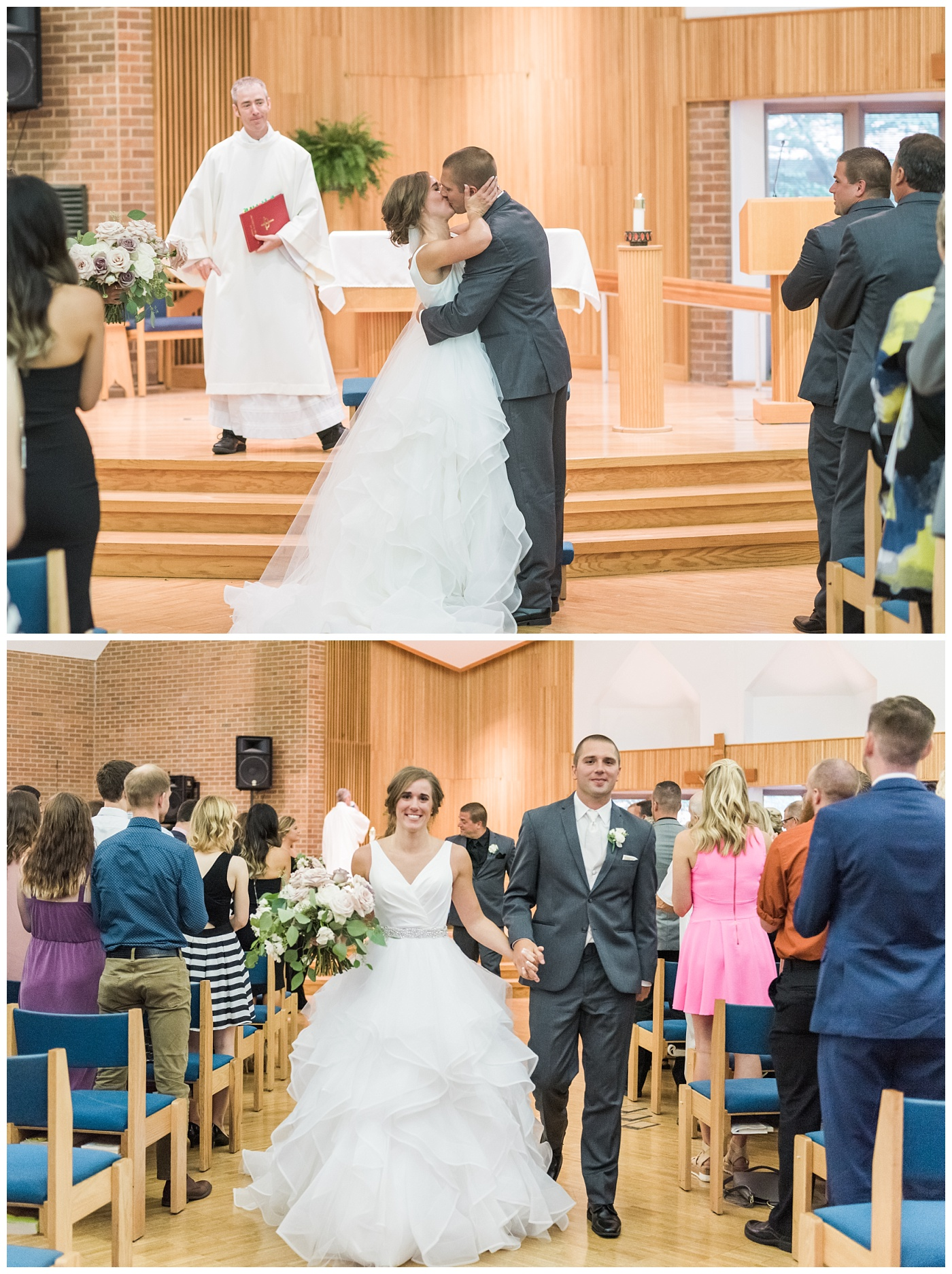 Stephanie Marie Photography Newman Catholic Center Ceremony Bella Sala Reception Tiffin Iowa City Wedding Photographer Chelsey Justin Meyers_0025-1.jpg
