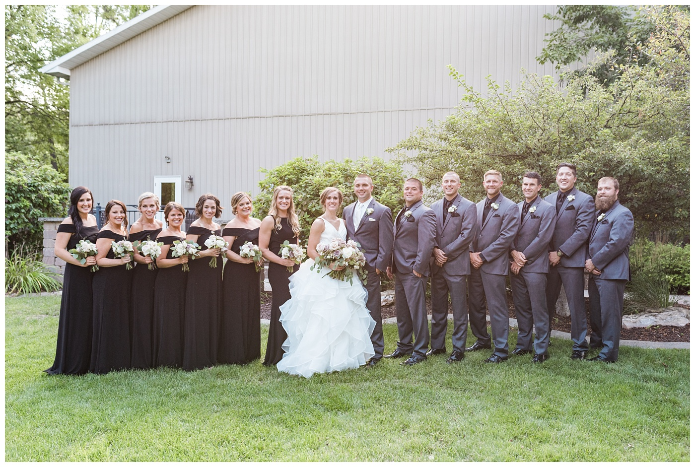 Stephanie Marie Photography Newman Catholic Center Ceremony Bella Sala Reception Tiffin Iowa City Wedding Photographer Chelsey Justin Meyers_0028-1.jpg