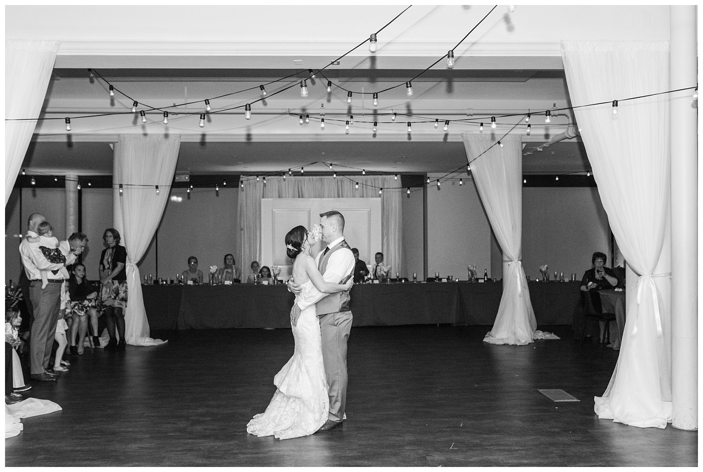 Stephanie Marie Photography St Mark's Lutheran Church Eastbank Venue and Lounge Reception Cedar Rapids Iowa City Wedding Photographer Jen Nick Morris_0057.jpg