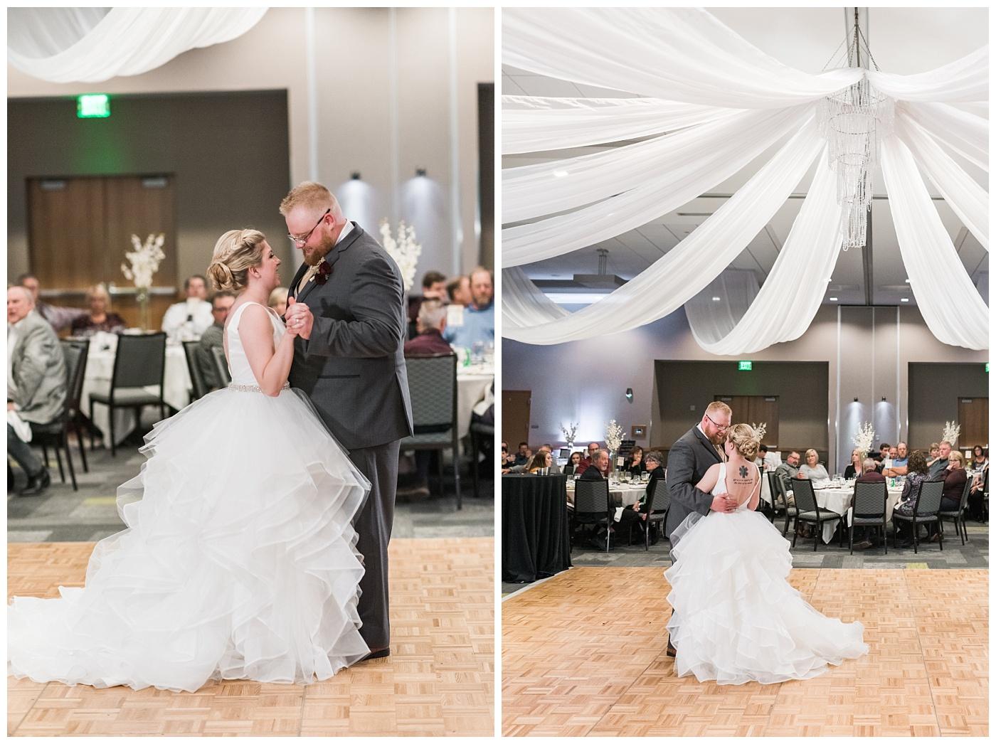 Stephanie Marie Photography The Hotel at Kirkwood Iowa City Cedar Rapids Wedding Photographer Christa Josh Bern_0075.jpg